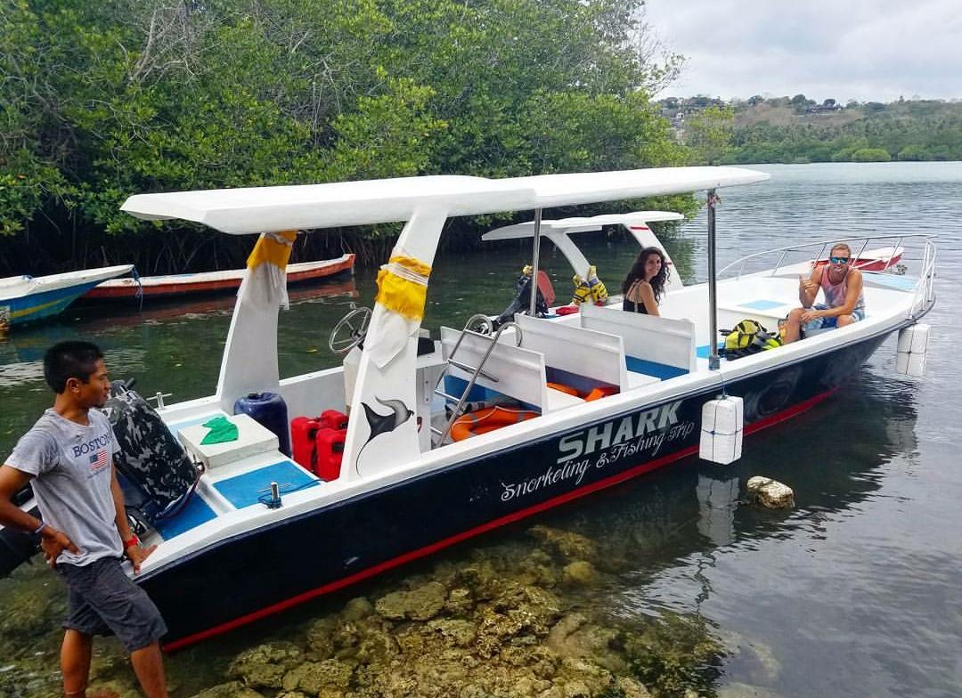 underwater buddha garden boat