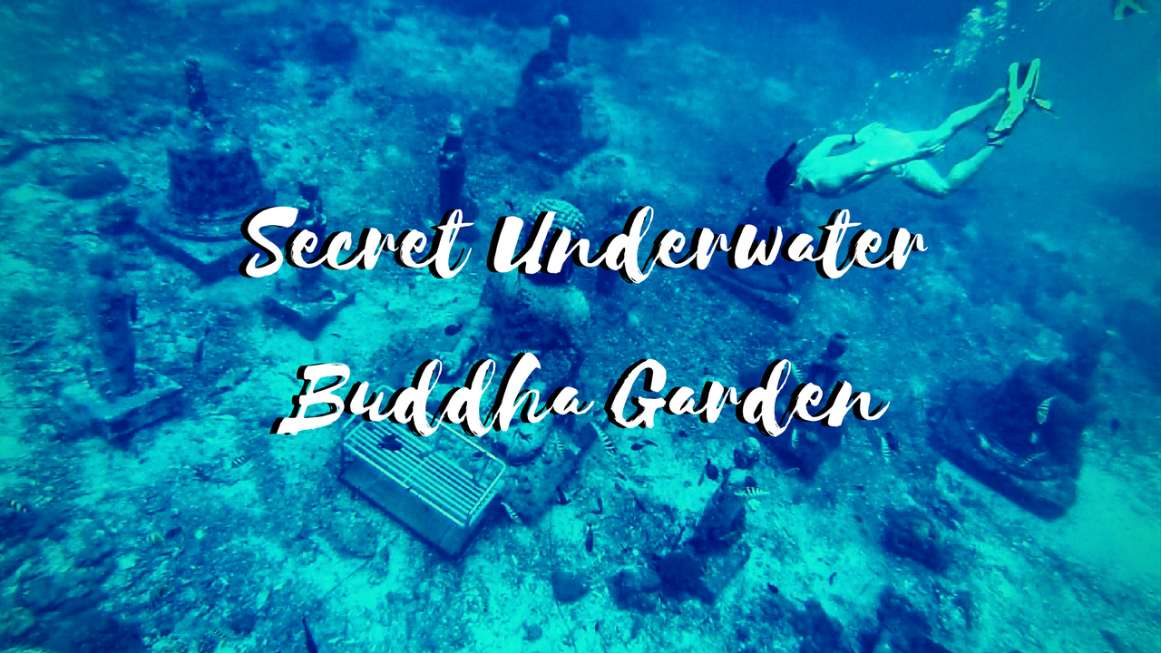 Secret Underwater Buddha Garden in Bali, Nusa Lembongan and Ceningan Islands