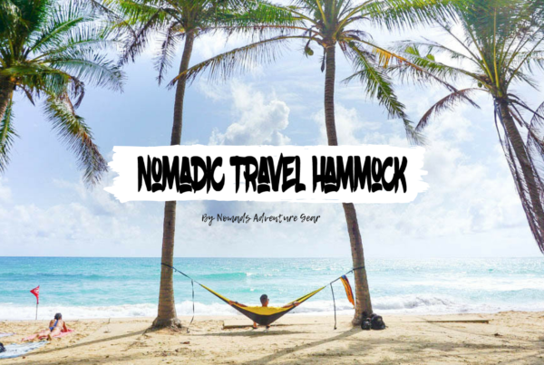 nomadic travel hammock