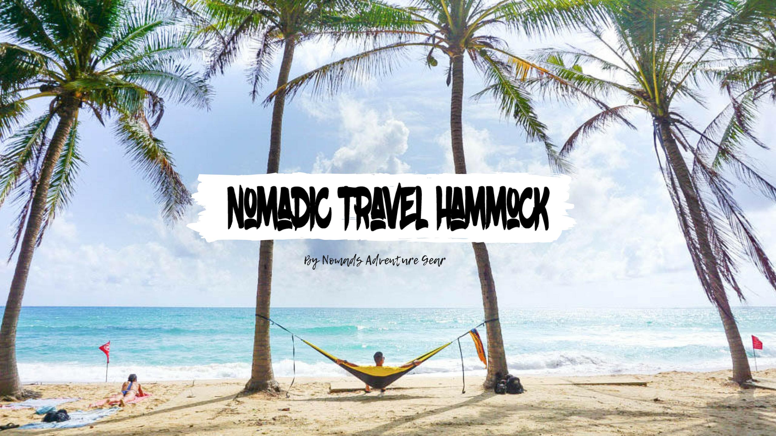 Nomadic Travel Hammock
