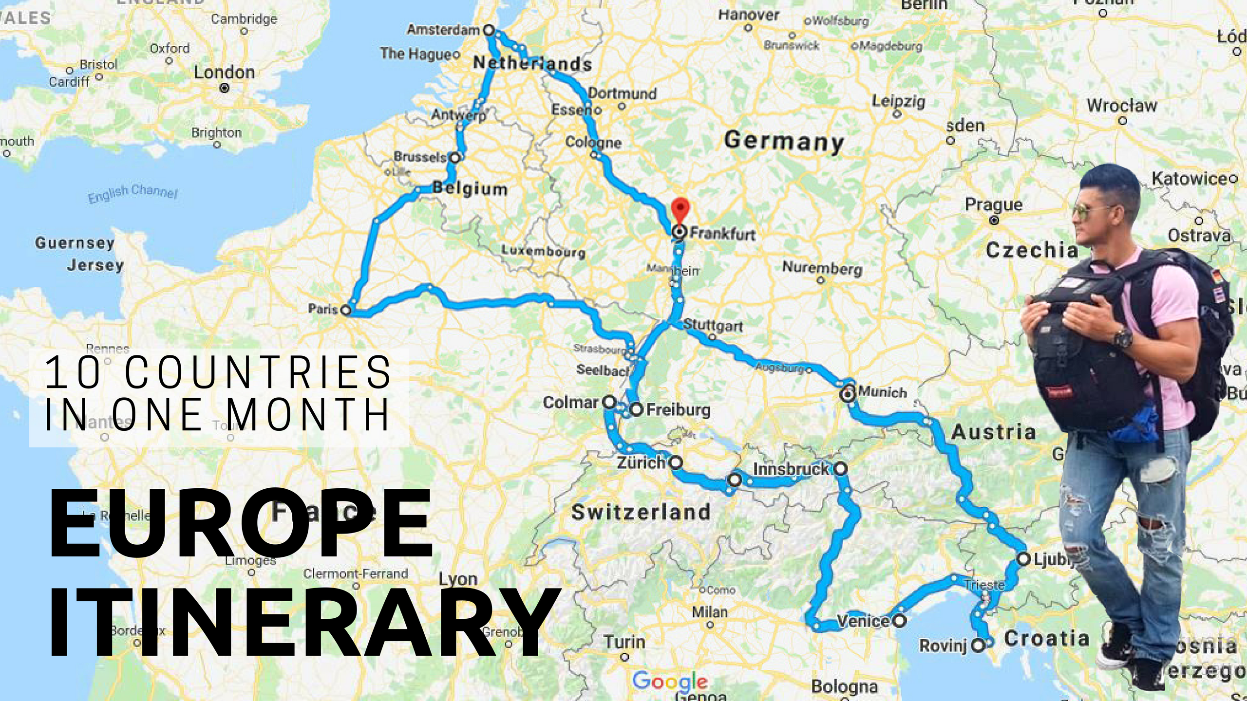 Europe Itinerary, Europe Itinerary: 10 Countries in 1 Month