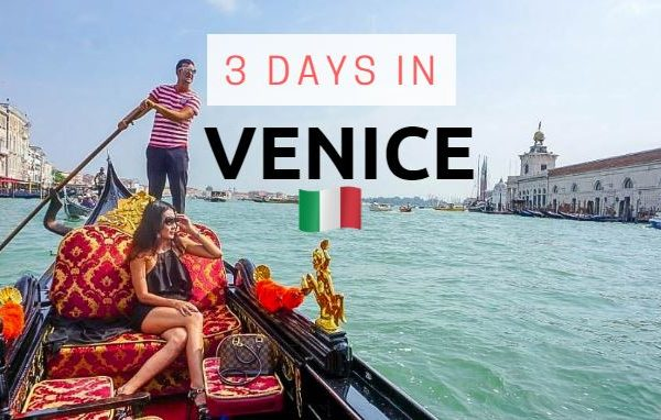 3 days in venice cover