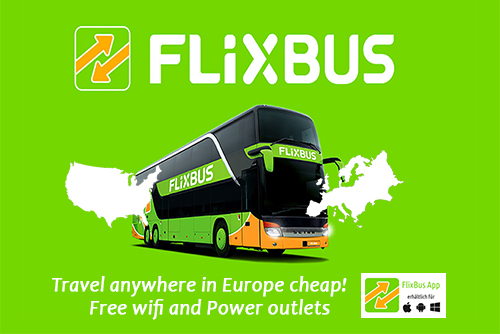 Flixbus Cheap Bus Tickets Europe