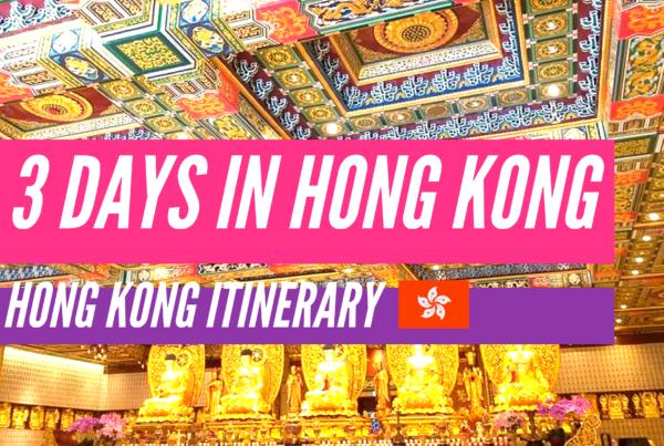 3 day hong kong intinerary nomadic nava