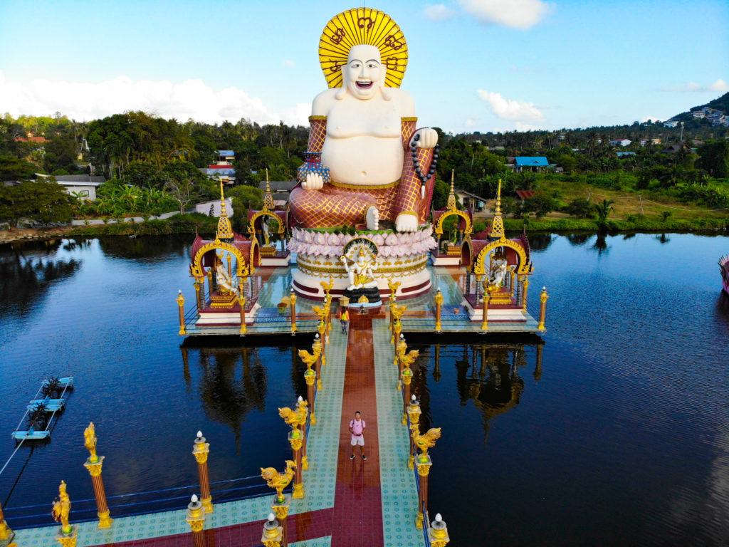 big buddha temple koh samui thailand