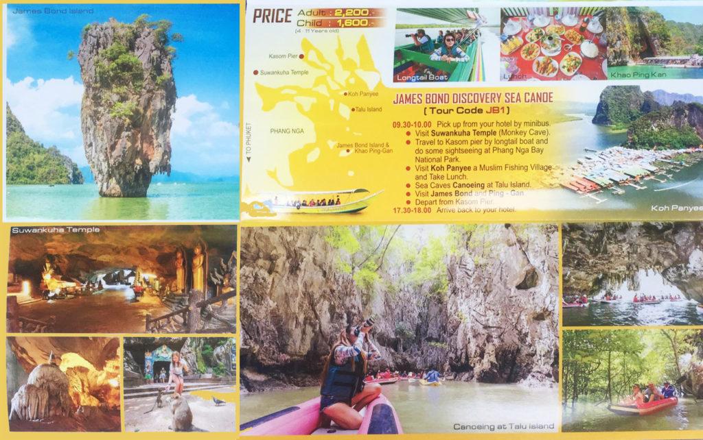 james bond island small boat tour price