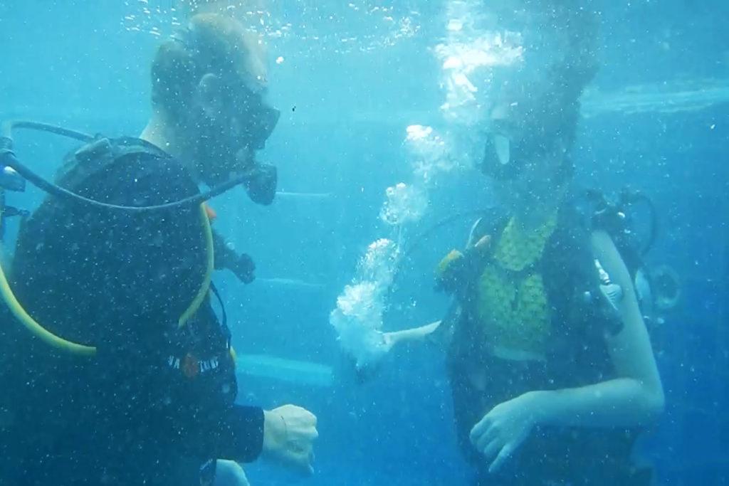 padi open water scuba certification koh phangan