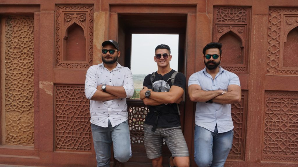 Fort Agra locals