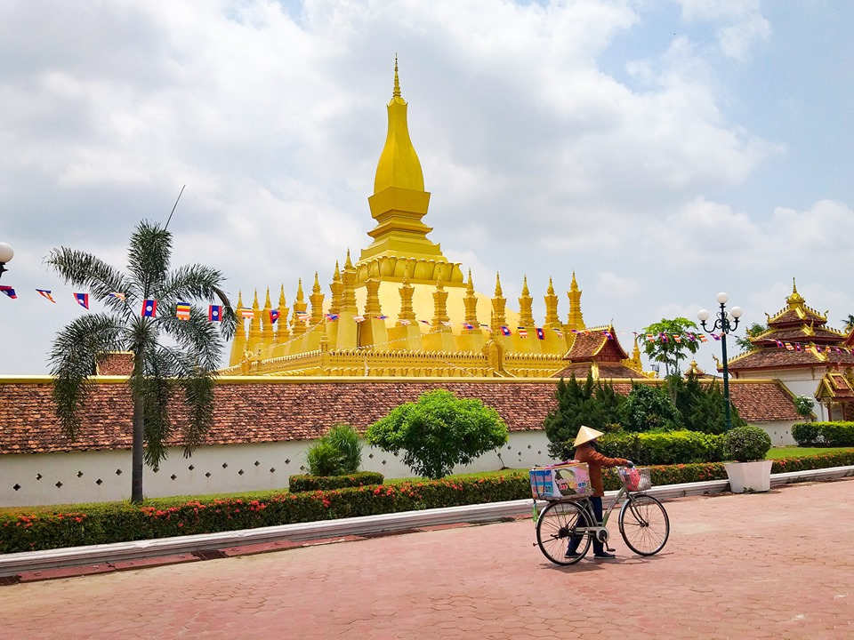 Pha That Luang Things to do in Vientiane Laos