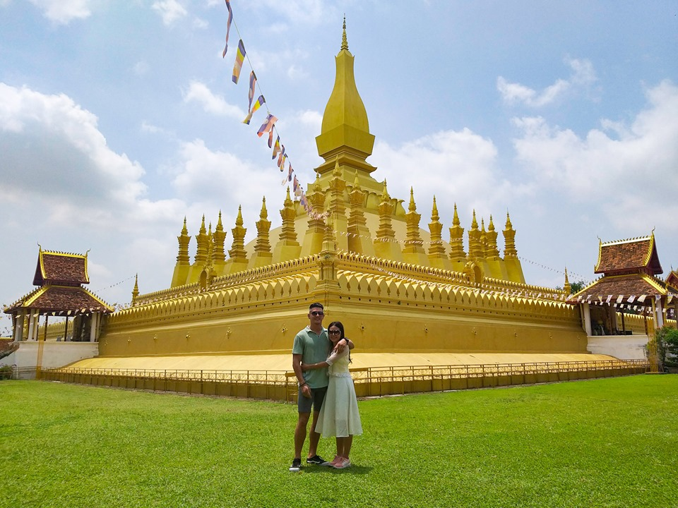 Pha That Luang Things to do in Vientiane Laos with Nomadic Nava