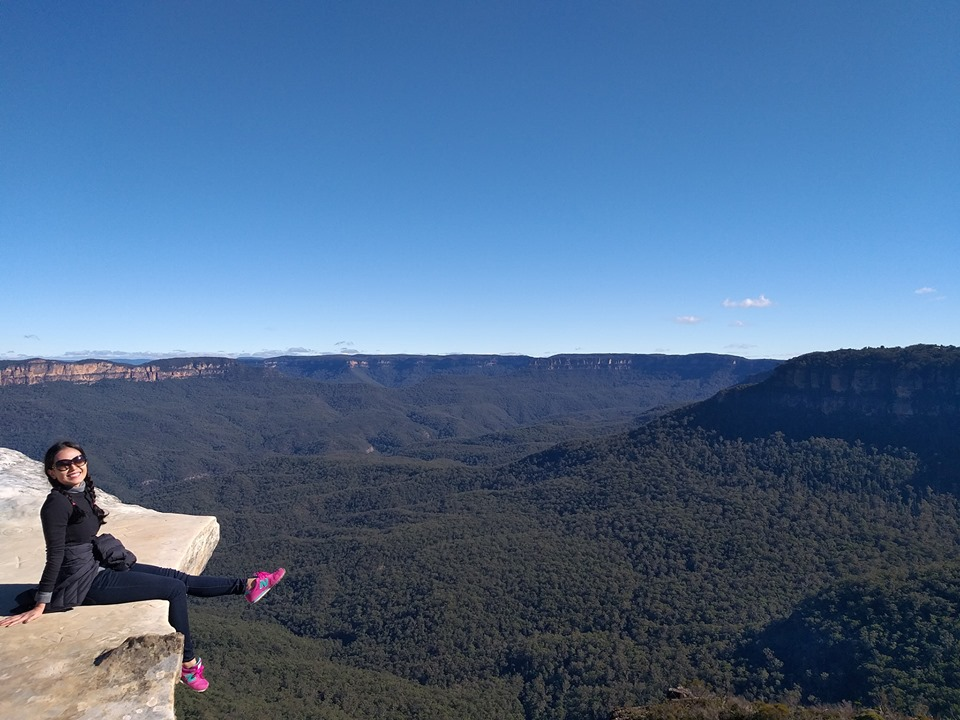 Lincoln's Rock Overlooking the Kings Table in NSW