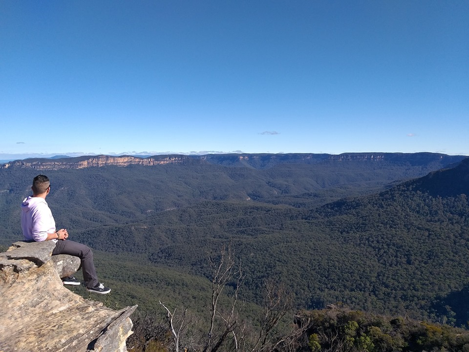 Lincoln's Rock Overlooking the Kings Table NSW