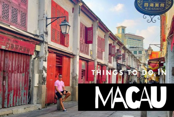 things to do in macau China