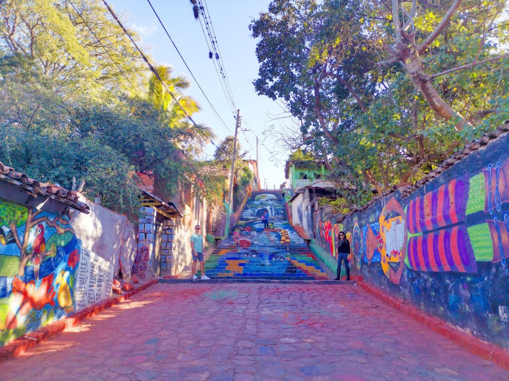 Mural Stairs in Honduras