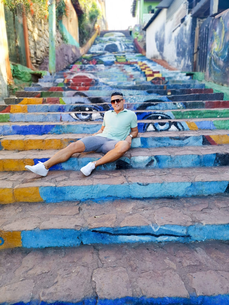 Mural Stairs in Cantarranas