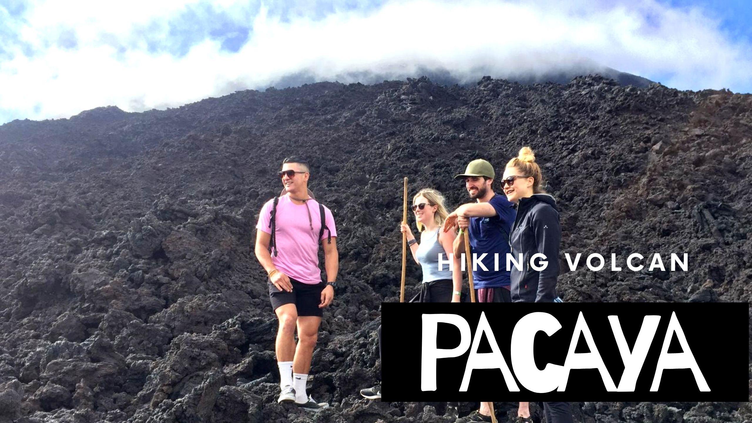 pacaya volcano hike, Pacaya Volcano Hike