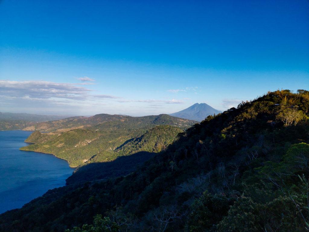 Volcan Ilopango, Volcan Ilopango Lake