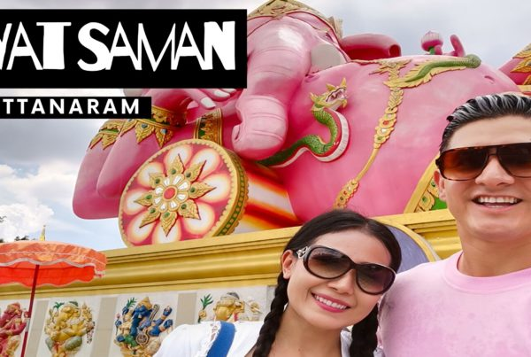 Wat Saman Rattanaram in Thailand