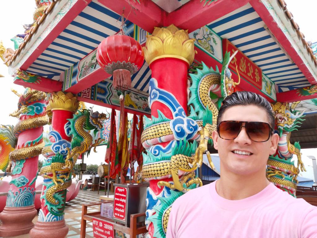 wat saman rattanaram chinese temple thailand