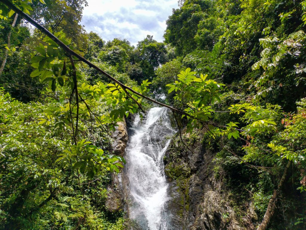 Kai Bae Waterfall Koh Chang nomadic tavel
