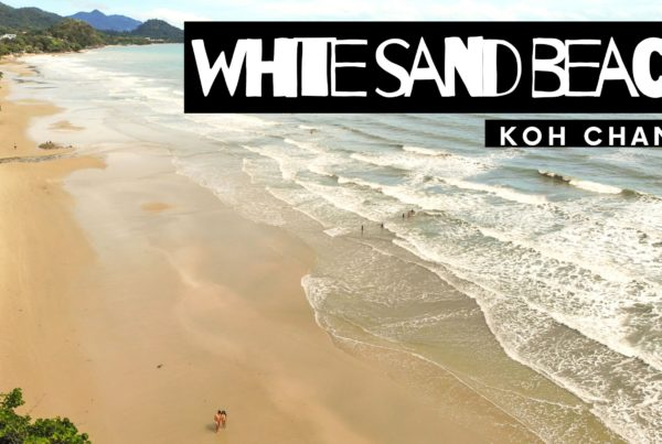 white sand beach koh chang