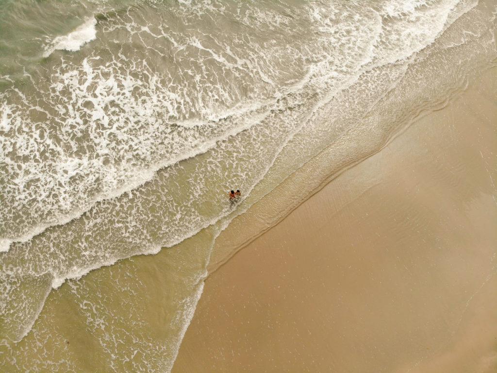 white sand beach koh chong island