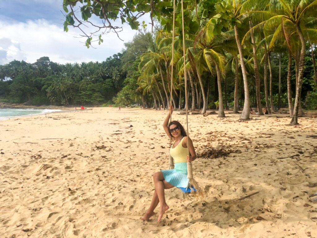 surin beach phuket nomadicnava kru janie yoga