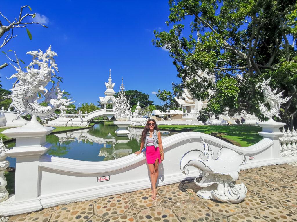 white temple kru janie yoga